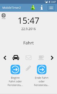 MobileTimer2 - náhled