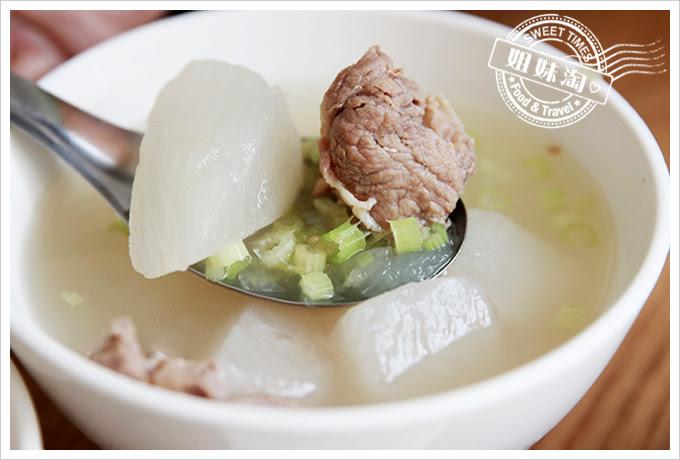 東坡鮮肉飯菜頭湯