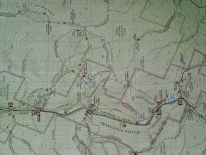 "Photo: North and South Kinsman Mountains, NH. Sentier du Lafayette Place Campground , via Lonesome Lake . Si on va vers l'autre direction.. Le Old Briddle Path, on se rend au bien connu ""Lincoln et Lafayette""."