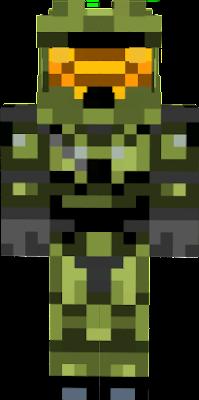 minecraft pe master chief skin download
