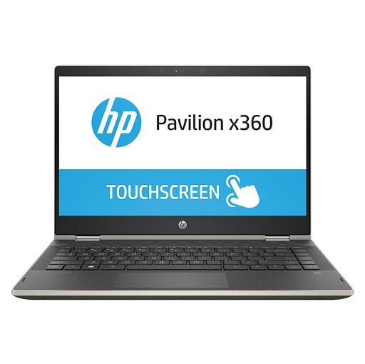 Máy tính xách tay/ Laptop HP Pavilion x360 14-cd0084TU (4MF18PA) (Vàng)