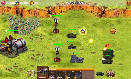 Tank Defend: Red Alert Command  captures d'écran 1