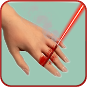 Laser Cut Finger Prank