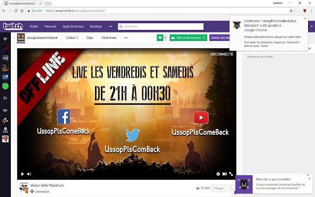 UssopPlsComeBack Live Extension