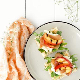 Peach & Prosciutto Summer Focaccia Recipe