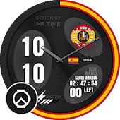 [MR.TIME x TicWatch] Spain - Next Match 2018