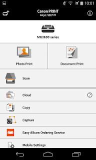 Canon PRINT Inkjet/SELPHY screenshot 00