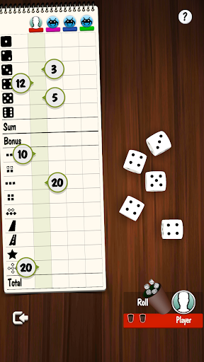 Yatzy Offline and Online - free dice game 3.2.25 screenshots 3