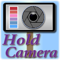 Hold Camera (selfie stick) icon