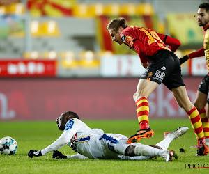 Voet Koita KV Mechelen - Waasland-Beveren
