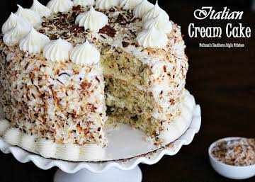 Italian Cream Cake April 18, 2014 by Melissa 126 Comments