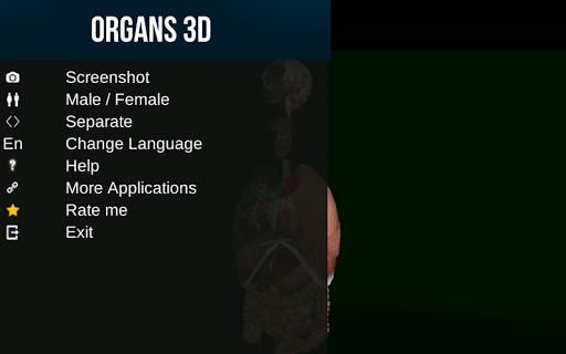 Organs 3D (Anatomy) Screenshot