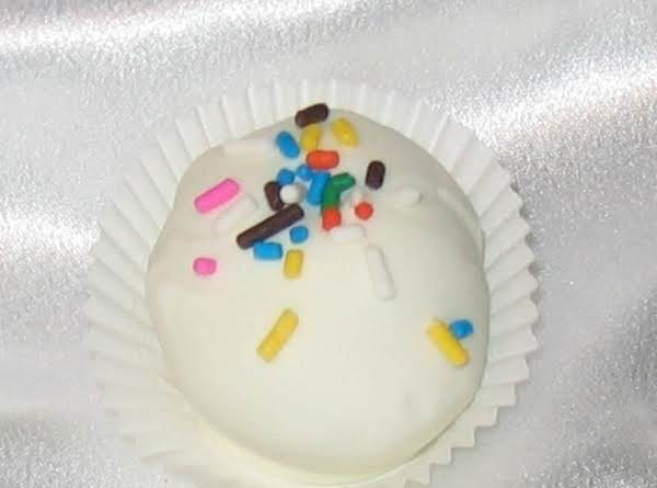 Birthday Cake Truffles Recipe