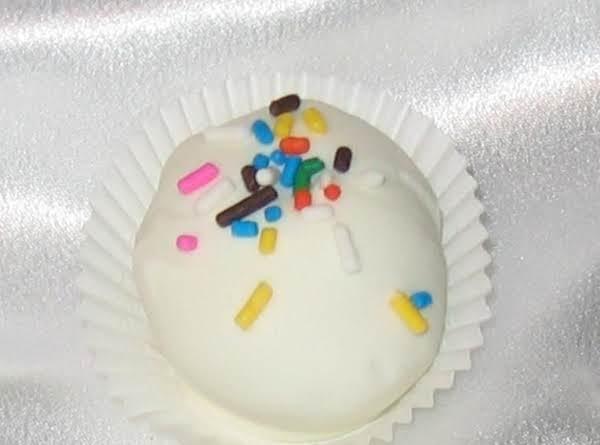 Birthday Cake Truffles