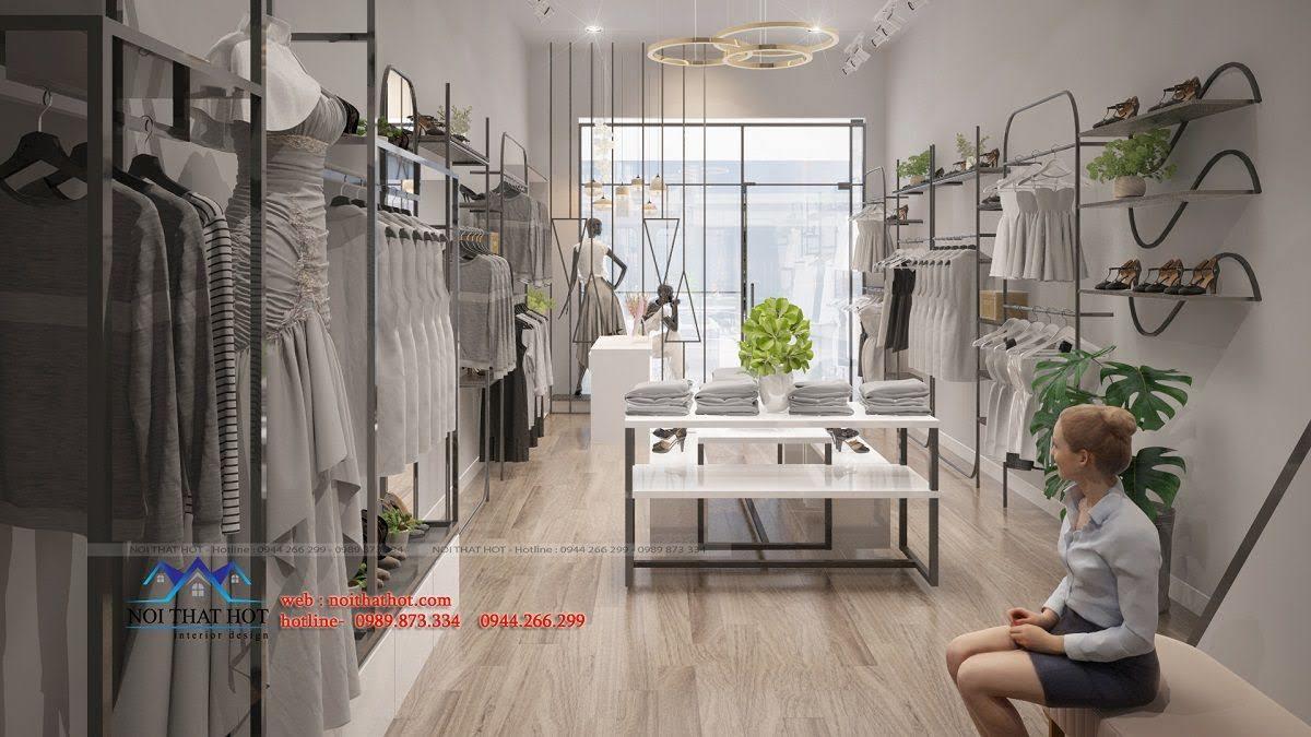 thiết kế shop thời trang hoài đức 13