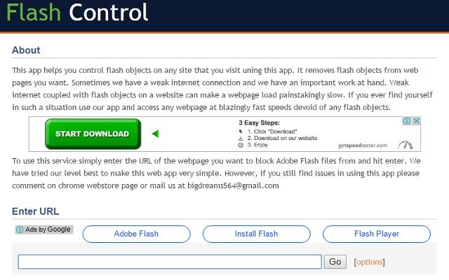 Flash Control