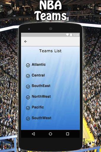 NBA Scores 1.0 screenshots 5