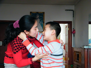 Photo: naughty son, warrenzh 朱楚甲 in 2012 lunar Spring Festival. family gathered for the lunar holiday even his dad, benzrad 朱子卓 received a much meaner bonus from his office, among the happy season.