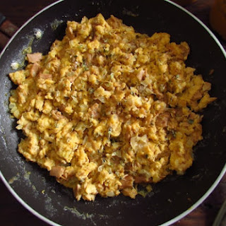 Scrambled Eggs with Tuna Recipe