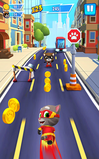 Talking Tom Hero Dash - Run Game screenshot 9