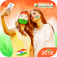 Indian Flag Face Photo Editor