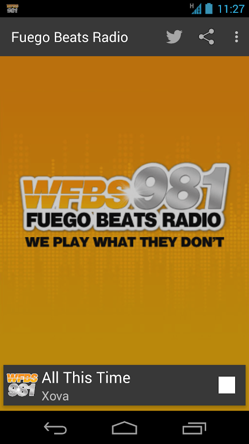 WFBS981 -- Fuego Beats Radio- screenshot
