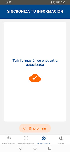 Inventario Mets Mobile screenshot 3