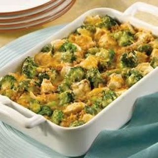 Campbell's Kitchen Chicken Broccoli Divan.