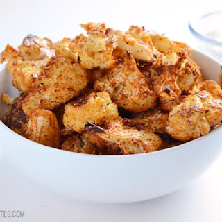 Smoky Parmesan Roasted Cauliflower