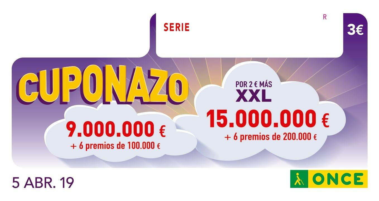 El Cuponazo de la ONCE deja 290.000 euros en Algeciras