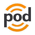 podKatcher - podcast downloads icon