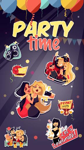Kika Pro Party Time Sticker