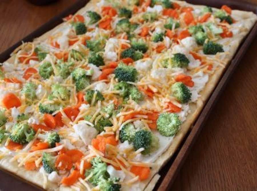 Veggie Pizza Recipe 3 Just A Pinch Recipes