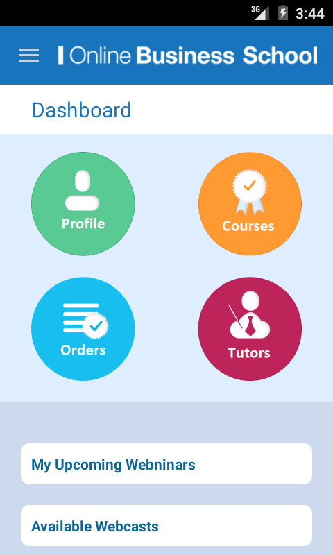 Online Business School- screenshot