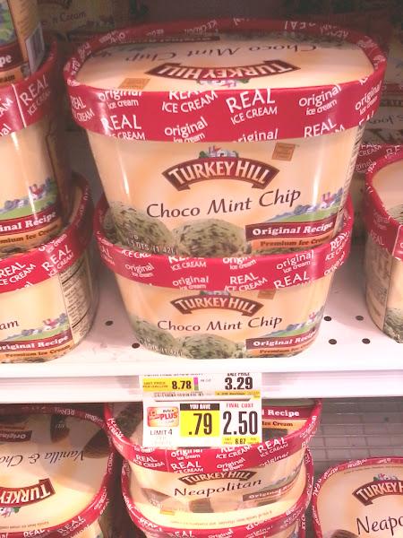Photo: And mint chocolate chip ice cream!