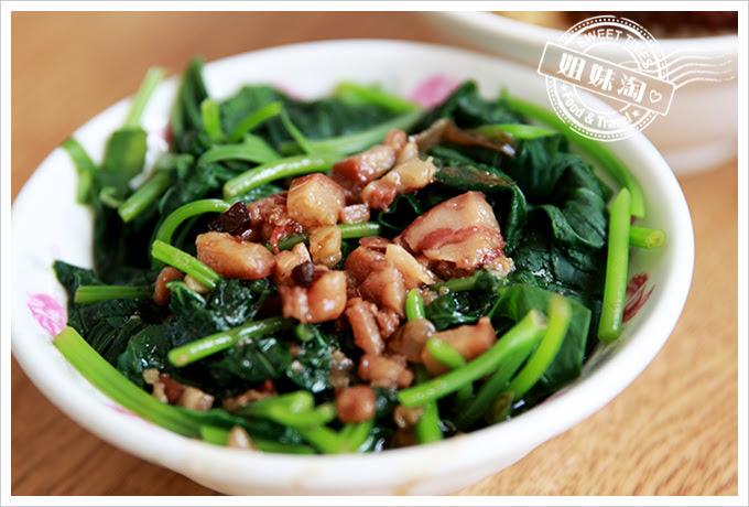 東坡鮮肉飯燙青菜