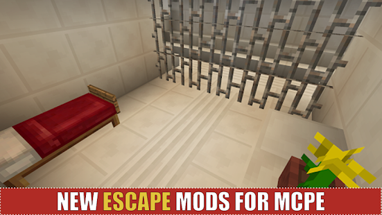 Prison Escape for MCPE - náhled