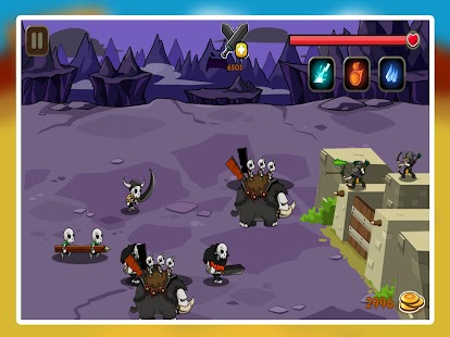 Monster Warrior Defense - náhled