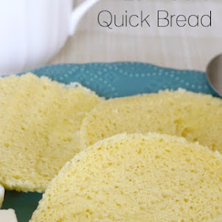 Low Carb Quick Bread Recipe