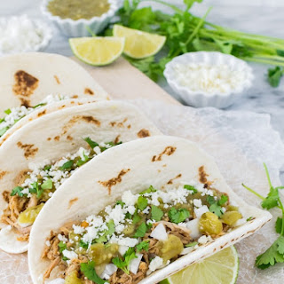 Green Chile Pulled Pork Tacos Recipe