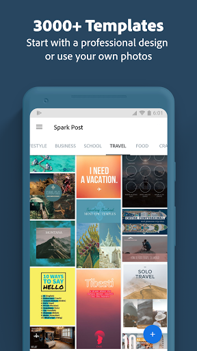 Adobe Spark Post Graphic design made easy Premium MOD APK