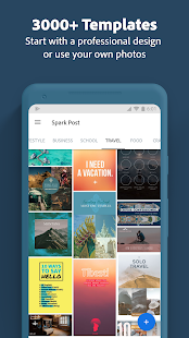 Adobe Spark Post: Graphic Design & Story Templates Screenshot