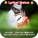 Tamil Lyrical Video Status Maker icon