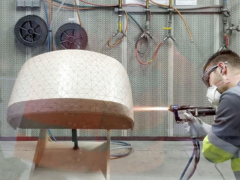 Esta cuna integra una malla de cobre que desvía las ondas eléctromagnéticas