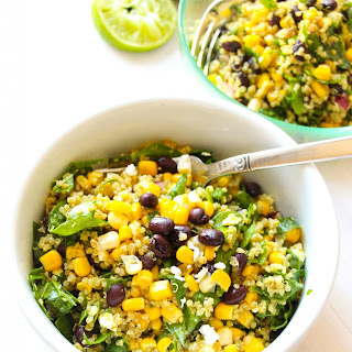 Tex-Mex Black Bean Corn Quinoa Salad.