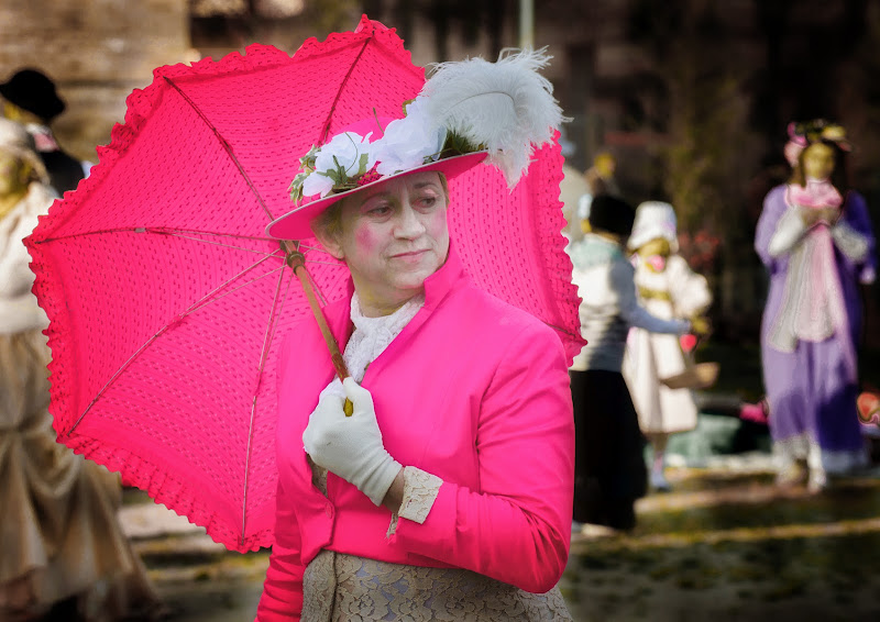 Pink look di felixpedro