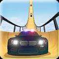 Police Car vs Mega Ramp download