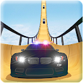 US Police Mega Ramp Car Stunts Racing: Cop Driving