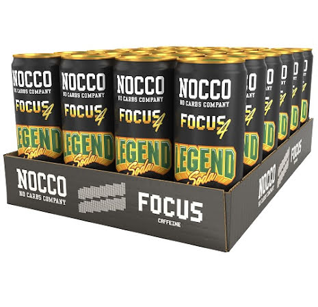 Nocco Focus 24 x 3303ml - Legend Soda