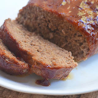 Barbecue-Glazed Meatloaf.